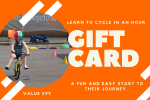 CycleKids gift card example